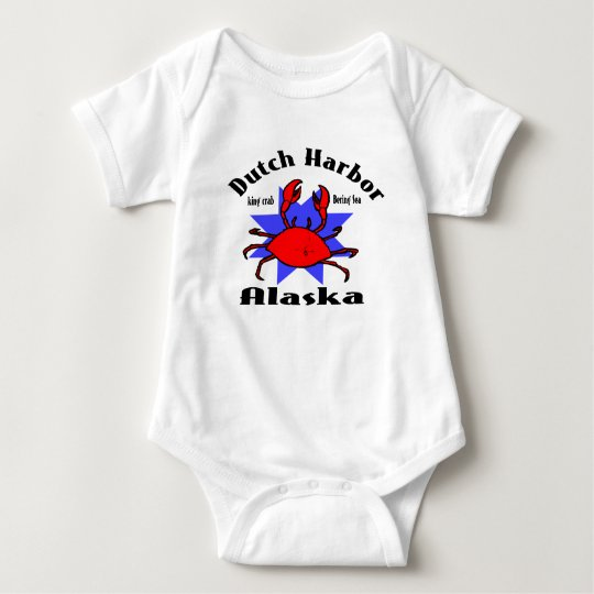 Dutch Harbor Alaska Baby Bodysuit