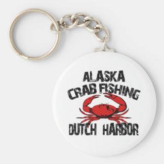 Dutch Harbor Alaska Crab Fishing Keychain