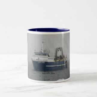 Dutch Harbor, Alaska:  F/T Cape Horn, trawler Two-Tone Coffee Mug