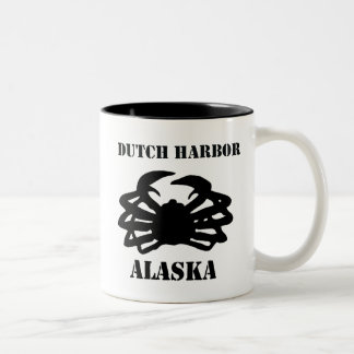 Dutch Harbor Alaska King Crab Coffee Mugs