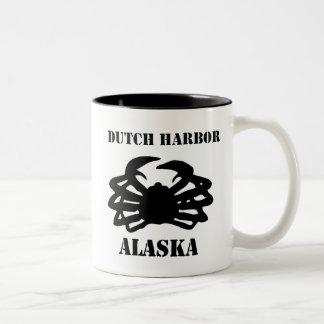 Dutch Harbor Alaska King Crab Coffee Mugs