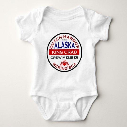 Dutch Harbor Alaskan King Crab Crew Member Baby Bodysuit