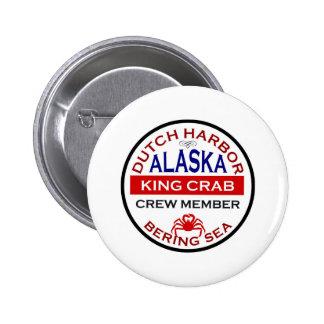 Dutch Harbor Alaskan King Crab Crew Member Pins