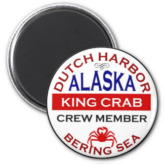 Dutch Harbor Alaskan King Crab Crew Member Magnet