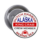 Dutch Harbor Alaskan King Crab Crew Member Pins