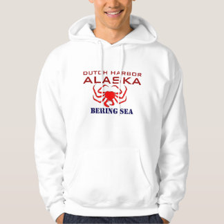 Dutch Harbor Crab Fishing Hoodie