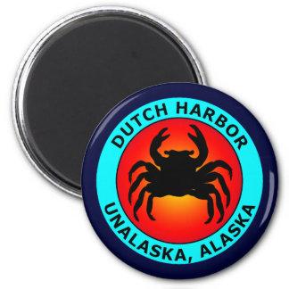 DUTCH HARBOR 2 INCH ROUND MAGNET