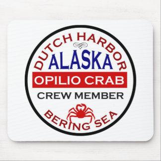 Dutch Harbor Opilio Crab Crew Member Mouse Pad