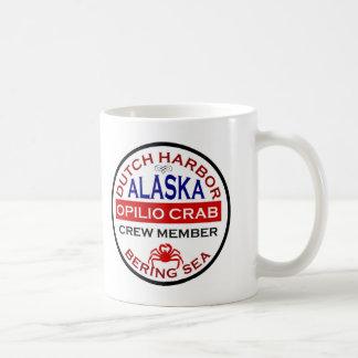 Dutch Harbor Opilio Crab Crew Member Classic White Coffee Mug
