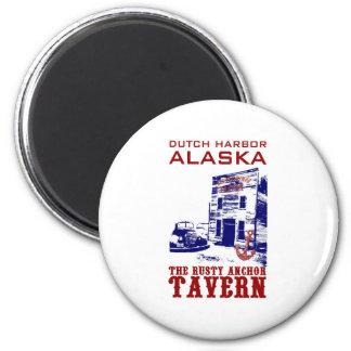 Dutch Harbor Rusty Anchor Tavern Magnet