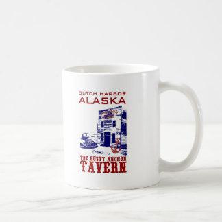 Dutch Harbor Rusty Anchor Tavern Classic White Coffee Mug