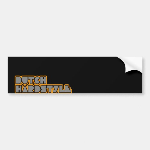 Dutch Hardstyle Hardbass music qlimax q base Car Bumper Sticker