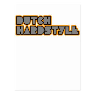 Dutch Hardstyle Hardbass music qlimax q base Postcard