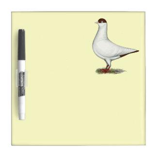 Dutch Helmet Pigeon Dry-Erase Boards