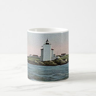 Dutch Island lighthouse Coffee Mug