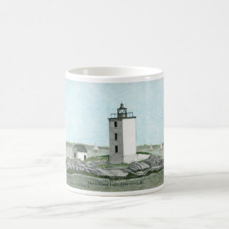 DUTCH ISLAND LIGHTHOUSE, NARRAGANSETT BAY MUG
