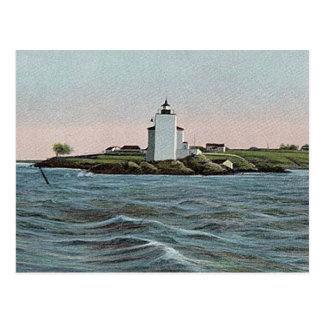 Dutch Island lighthouse Postcard