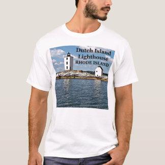 Dutch Island Lighthouse, Rhode Island T-Shirt