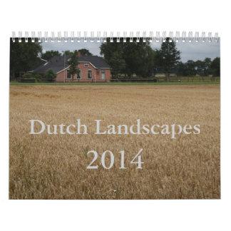 Dutch Landscapes 2014 Calendar