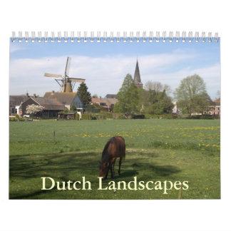 Dutch Landscapes Calendar