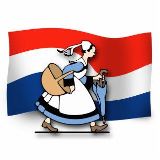 Dutch Maid Photo Statuette