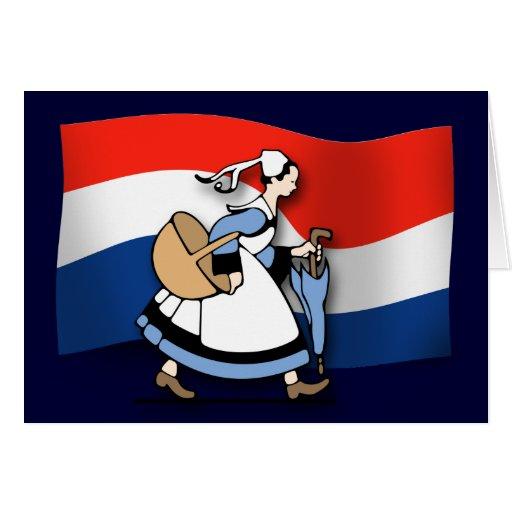 Dutch Maids Card
