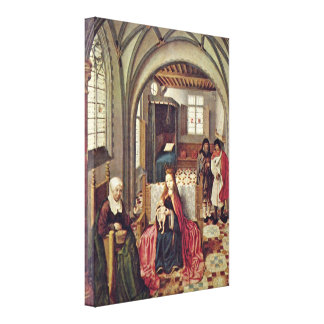 Dutch Master - Holy Family in the room Gallery Wrapped Canvas
