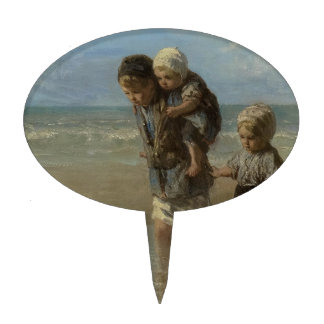 Dutch masters - painting cake topper