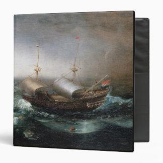 Dutch Merchant Vessels and a Smalschip Accompanied 3 Ring Binder