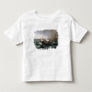 Dutch Merchant Vessels and a Smalschip Accompanied Toddler T-shirt