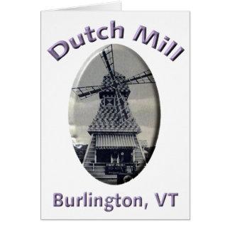 Dutch Mill Gas Station Card