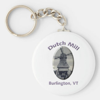 Dutch Mill Gas Station Keychain