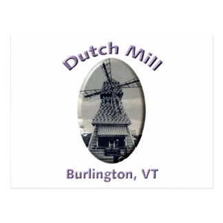 Dutch Mill Gas Station Postcard