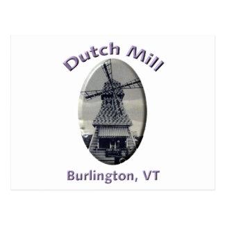 Dutch Mill Gas Station Postcard