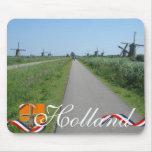 Dutch Mills Holland Text Souvenir Mousepad