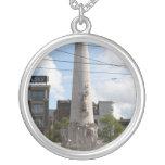 Dutch National Monument Round Pendant Necklace