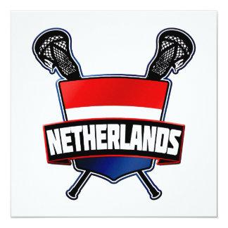 Dutch Nederlandse Lacrosse Card