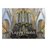 Dutch organ Easter card