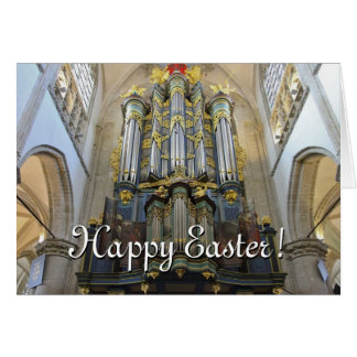Dutch organ Easter card
