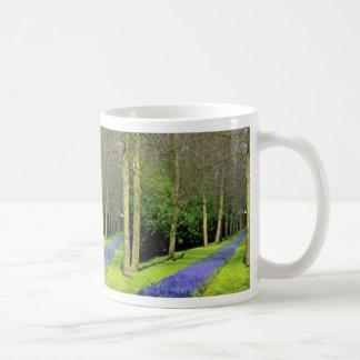 Dutch parkland  flowers classic white coffee mug