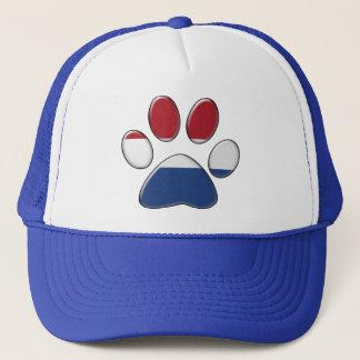 Dutch patriotic cat trucker hat