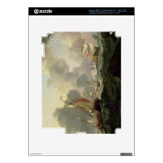 Dutch Pinks and a British Frigate in Choppy Seas iPad 3 Skin