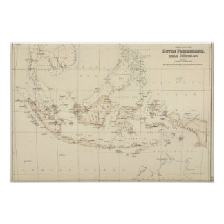 Dutch Possessions in the Indian Archipelago Poster