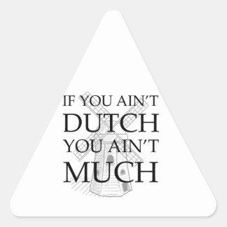 Dutch Pride Gear Triangle Sticker