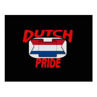 Dutch pride post card
