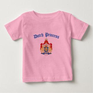 Dutch Princess (Holland Coat of Arms) Baby T-Shirt