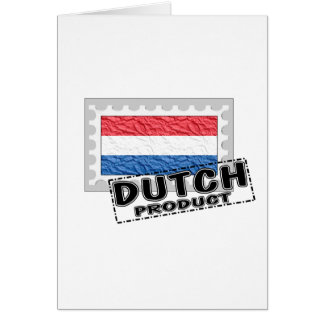 Dutch product greeting card