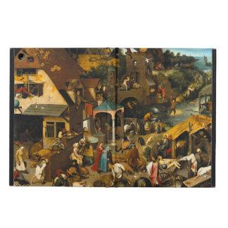 Dutch Proverbs by Pieter Bruegel the Elder Cover For iPad Air