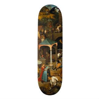 Dutch Proverbs by Pieter Bruegel the Elder Skateboard Deck