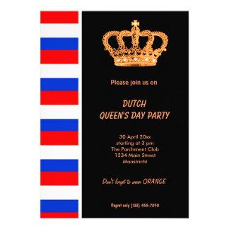 Dutch Queen s day Koninginnedag Announcement